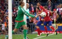 """Įstabų įvartį įmušęs """"Atletico"""" įveikė """"Bayern"""" ir priartėjo prie finalo"""