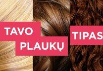 Sužinok tikrąjį savo plaukų tipą