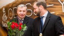 DELFI 15: susisiekimo ministro R. Sinkevičiaus sveikinimas