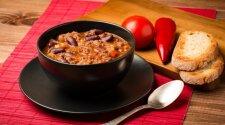Aštri meksikietiška pupelių sriuba
