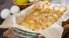 Naminis obuolių pyragas