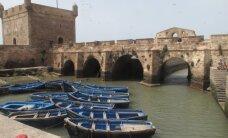 Vėjo karalystė Essaouira pakrantėje
