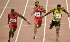 Išliko viršūnėje: U. Boltas per sprindį aplenkė J. Gatliną