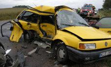 Šiais metais smarkiai sumažėjo eismo įvykių