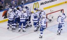 """""""Lightning"""" eliminavo geriausią NHL komandą ir žengė į finalą"""
