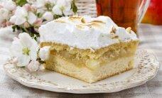 Morenginis pyragas su obuoliene