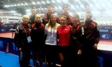 Europos stalo teniso pirmenybių komandinėse varžybose Lietuvos rinktinės tęsia kovą dėl patekimo į elitinį divizioną