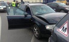 Girtas vairuotojas Klaipėdoje nutraukė vairavimo egzaminą