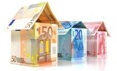 Nuomos kainos veja į bankus imti kreditų