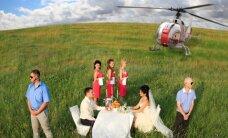 Lietuviškos vestuvės: altorių nori iškeisti į sraigtasparnį