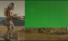 """Žvilgsnis į filmo """"Marsietis"""" užkulisius: kaip buvo kuriami specialūs efektai"""