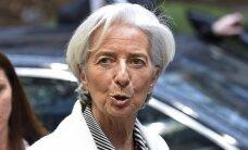 Ch. Lagarde: Ukrainai gresia netekti TVF paramos