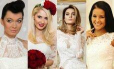 Lietuvos garsenybės nelaukia vestuvių, kad pasipuoštų nuotakų suknelėmis