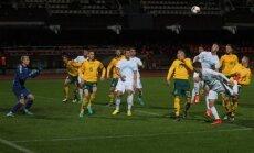 Futbolas U21: Lietuva - Slovėnija