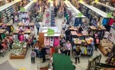 Prekybos centruose – eilės kaip prieš didžiąsias metų šventes