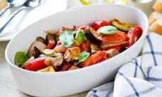 Vakarienė per pusvalandį: daržovių troškinys