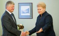 Kęstutis Navickas ir Dalia Grybauskaitė