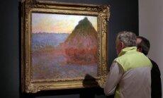 Claude'o Monet drobė
