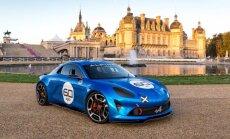 Spėjama, kad naujojo Alpine prototipas yra Celebration modelis