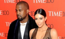 Kim Kardashian ir Kanye Westas