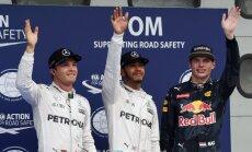 Nico Rosbergas, Lewisas Hamiltonas ir Max Verstappen