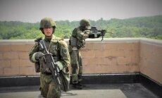 Lietuvos ir JAV karių pratybos: mūšis mieste
