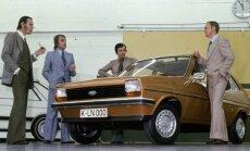 Ford Fiesta prieš 40 metų