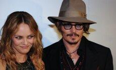 Vanessa Paradis ir Johnny Depp