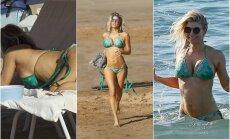 Fergie atostogos Havajuose