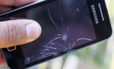 Sudužęs 'Samsung telefonas