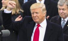 D. Trumpas prisiekia 45-uoju JAV prezidentu
