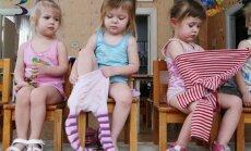 vaikas, vaikai, mergaitė, rūbai, rengiasi, pietų miegas, savarankiškumas, vaikų darželis