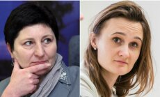 Dalia Kuodytė ir Viktorija Čmilytė