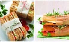Gudrybė, dėl kurios jūsų sumuštiniai taps stalo puošmena