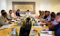 Vasaros komisijos posėdis LTOK