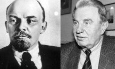Vladimiras Leninas ir Justinas Marcinkevičius