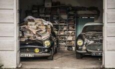 Rūdijantis automobilių lobynas, vertas milijonų eurų