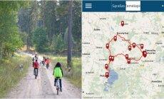 Žemaitijos nacionalinio parko aplikacija