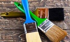Po kosmetinio remonto: kaip nuvalyti dažų dėmes nuo grindų