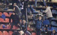 Maskvos Dinamo ir Voronežo Fakel fanų muštynės (fcdynamo.ru nuotr.)