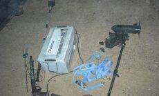 Konfiskuota brakonierių įranga