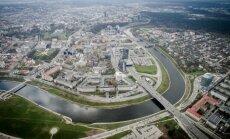 The river Neris in Vilnius