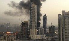 Dubajuje siaučia naujas didelis gaisras