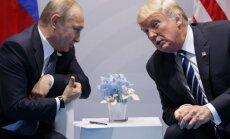 V. Putinas ir D. Trumpas