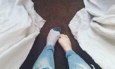 10 originalių būdų panaudoti be poros likusią kojinę
