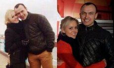 D. Gutauskienė-Laisva su vyru