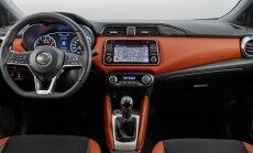 Nissan Micra interjeras