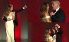 Donaldo Trumpo ir Melanios pirmasis šokis