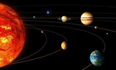Saulės sistemos planetos ir jų orbitos