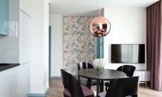 52 kv.m butas Vilniuje: drąsūs stilių ir spalvų deriniai